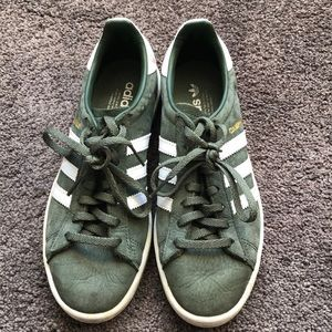 green adidas campus sneaker